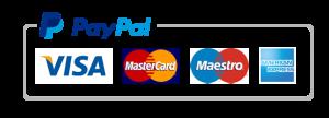 PayPal tarjetas permitidas
